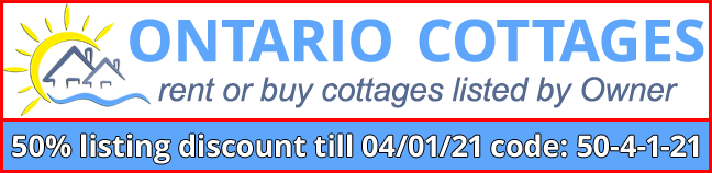 Ontario Cottages, list, rent or buy
